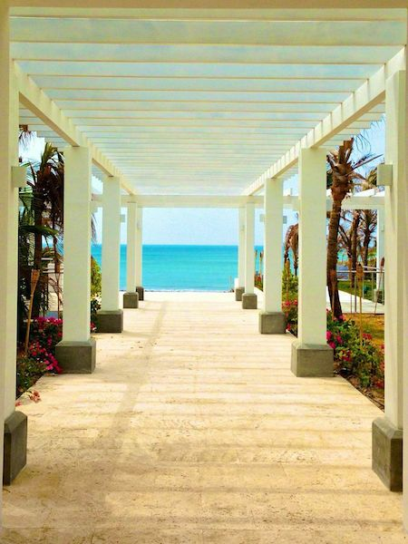 luxury panama beach home entrance my panama real estate