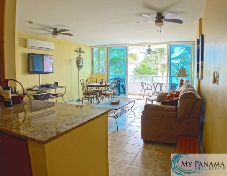 "NEWLY REDUCED!!! ""THIS-IS-ONE-OF-A-KIND"" – One Bedroom Beachfront Condo in Gorgona, Panama"